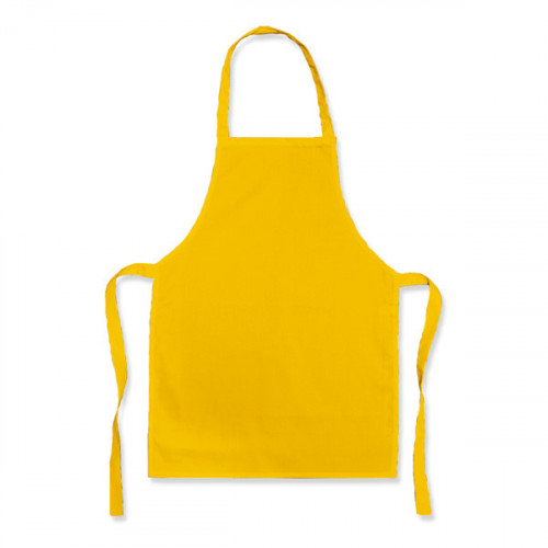 Yellow Polycotton Apron 45x65cm