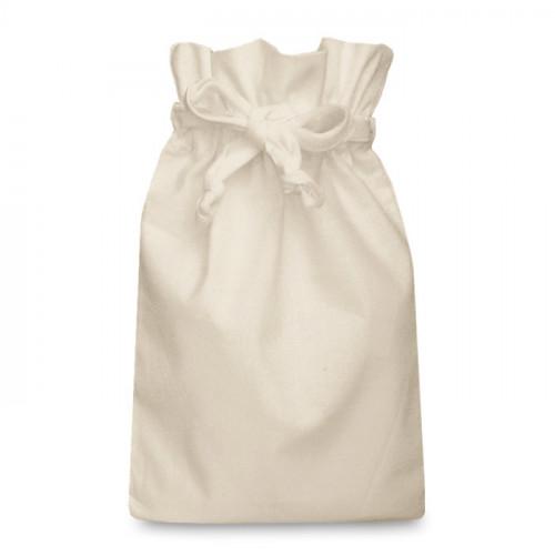Natural Cotton Double Drawstring Bag 25x36cm