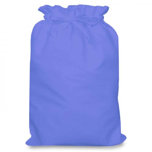 Cornflower cotton Drawstring Bag 30 x 44cm