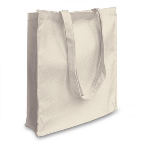 Natural canvas 12oz Shopper 38x43x10cm Long Handles&Gusset