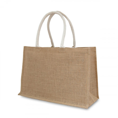 Natural Jute Large Shopper 47x32x15cm