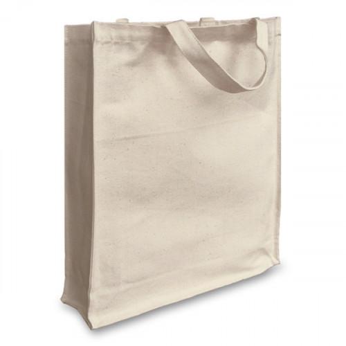 Natural canvas 12oz Shopper 38x43x10cm Short Handles&Gusset