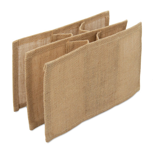 Natural jute Bottle Divider to fit Jute Box Bag