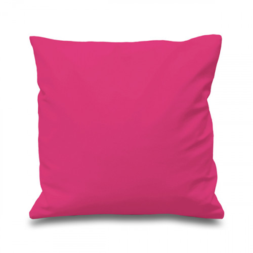 Raspberry Cotton Cushion Cover 41cmx41cm