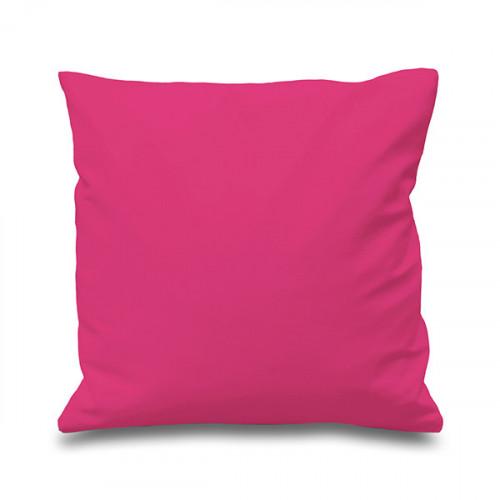 Raspberry Cotton Cushion Cover 41cmx41cm