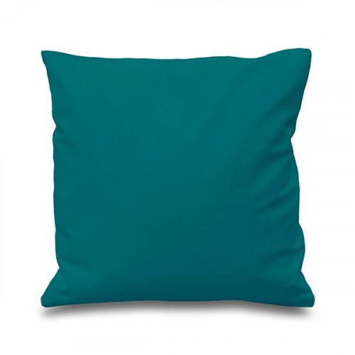 Teal cotton Cushion Cover 41 x 41cm