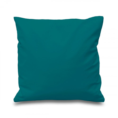 Teal cotton Cushion Cover 41 x 41cm