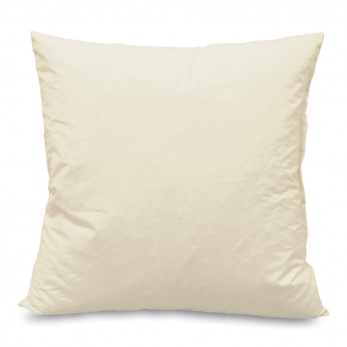 Cushion pad Feather filled 45x45cm Cambric covered