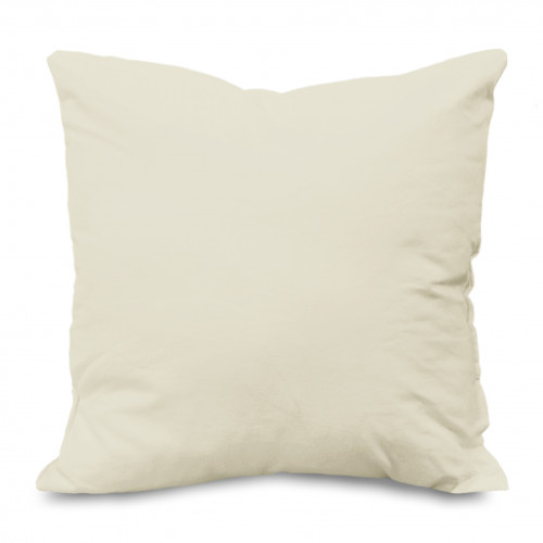 Cushion pad Polyester fibre filled 45x45cm Polycotton covered