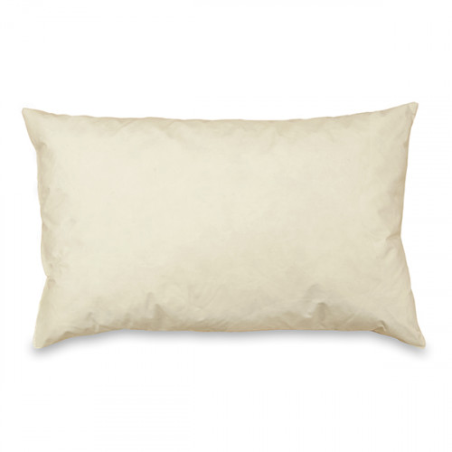 Cushion pad Feather filled 51 x 30cm Cambric covered