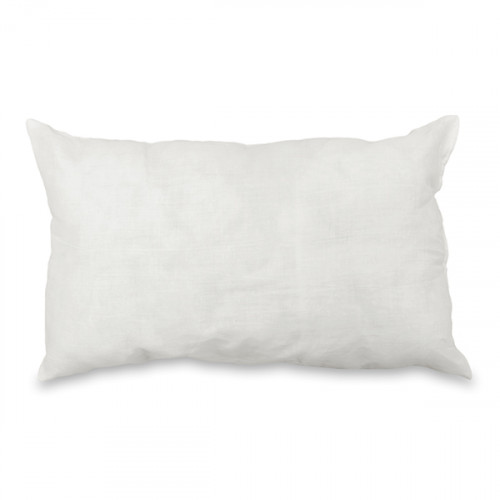 Cushion pad Polyester fibre filled 51 x 30cm Polycotton covered