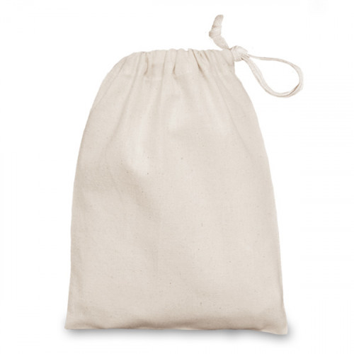 Natural cotton Drawstring Bag 15x20cm