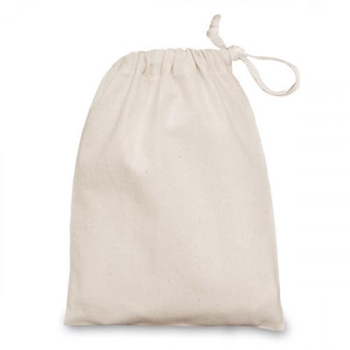 Natural cotton Drawstring Bag 15x20cm