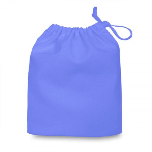 Cornflower cotton Drawstring Bag 20 x 24cm
