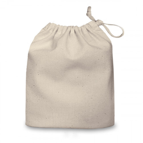 Natural cotton Drawstring Bag 20x24cm