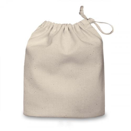Natural cotton Drawstring Bag 20x24cm