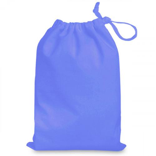Cornflower cotton Drawstring Bag 25 x 35cm