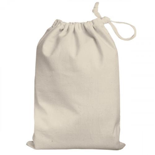 Natural cotton Drawstring Bag 25x35cm