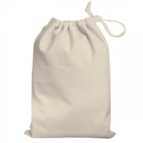 Natural cotton Drawstring Bag 25x35cm