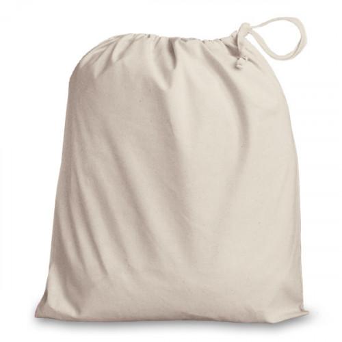 Natural cotton Drawstring Bag 38x43cm