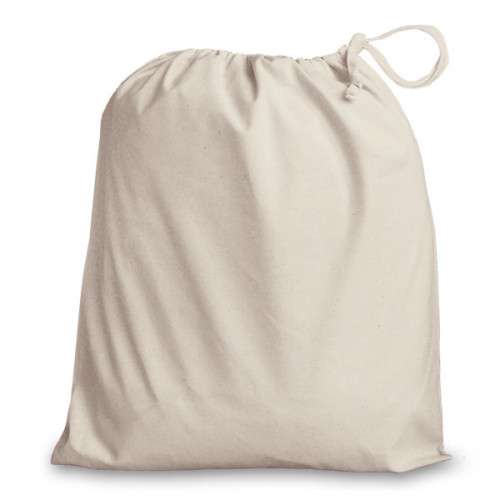 Natural cotton Drawstring Bag 38x43cm