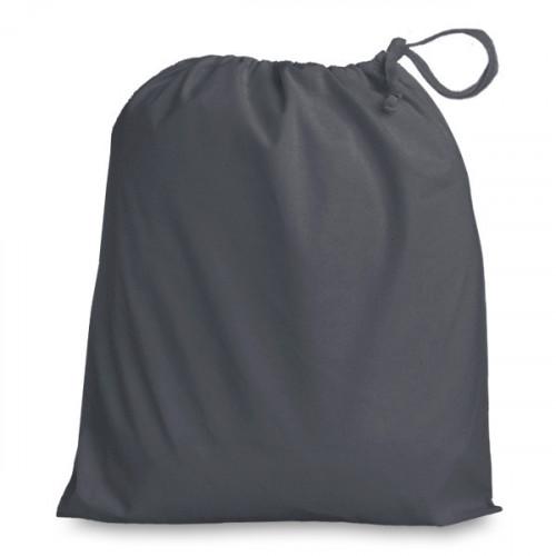 Slate Grey Drawstring Bag 38x43cm