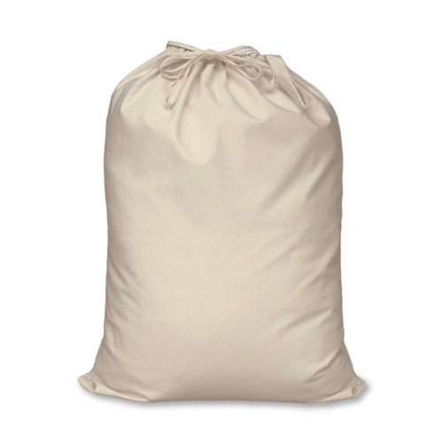 Natural canvas 8oz Double Drawstring Sack 46x60cm