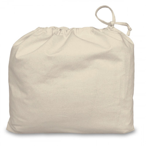 Natural cotton Drawstring Bag 48x42cm