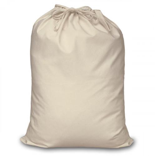Natural cotton extra large Drawstring Sack 60x76cm