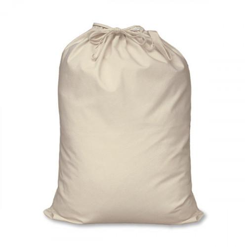 Natural cotton large Drawstring Sack 46x60cm