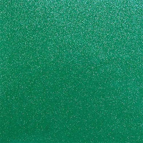 Glitter Green Iron on sheets - 4 pack 20x25cm