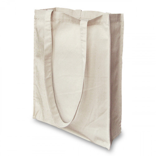 Natural canvas 8oz small Shopper 32x36x10cm Long Handles&Gusset