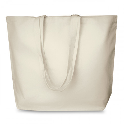 Natural cotton Shopper 52x40cm Long handles. Base 13cm