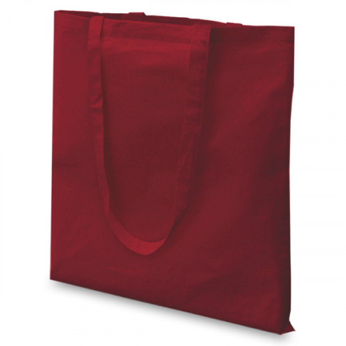 Maroon cotton Carrier 38x43cm Long Handles