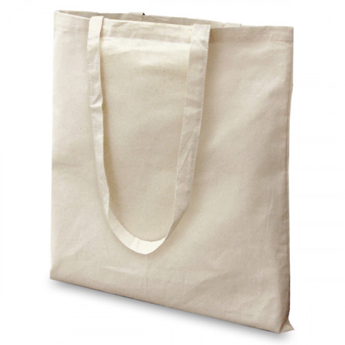 Natural cotton Carrier 38x43cm Long Handles
