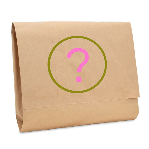The contents of a Mystery Bag are a surprise but always total a higher value than you pay!