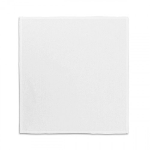 White cotton Napkin 39x39cm - flat