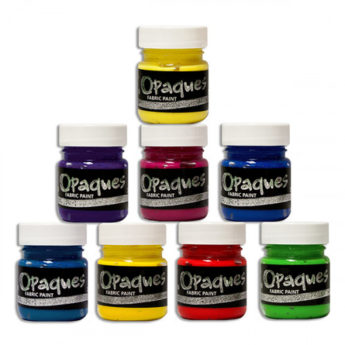Starter Set 8 x 28ml Fabric Paints