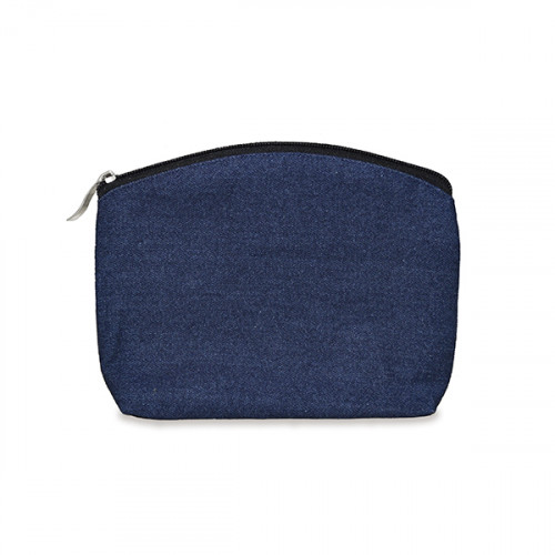Indigo Denim purse/pouch 17x14 cm