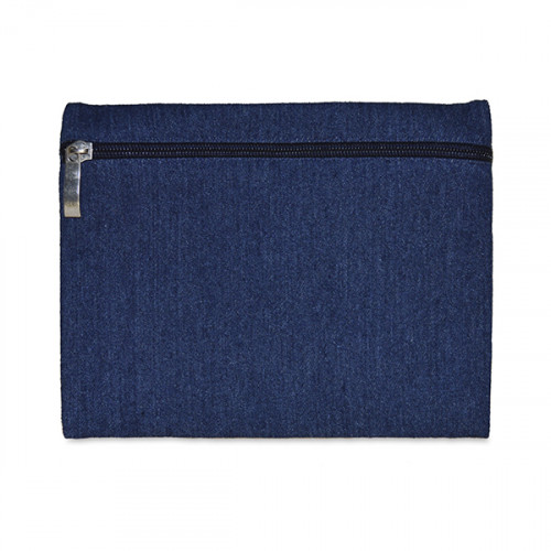 Denim 9oz pencil case/make-up bag 21x16cm