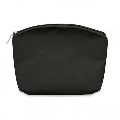 Black canvas 8oz purse/pouch 24x20cm