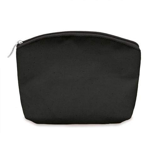 Black canvas 8oz purse/pouch 24x20cm