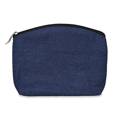 Indigo Denim purse/pouch 24x20cm