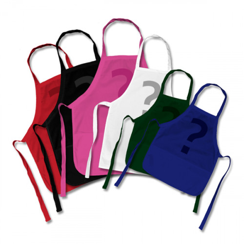 10 Printed Factory Seconds Small Aprons