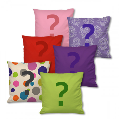 10 Printed Factory Seconds Cushion Covers Cotton or Canvas