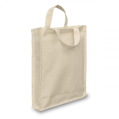 Natural Cotton Goody Bags with Gusset