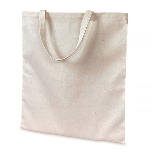 Natural canvas 8oz Carrier 36x39cm Short Handles