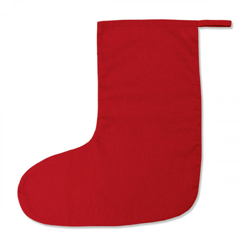 Red cotton Medium Stocking 18x36cm