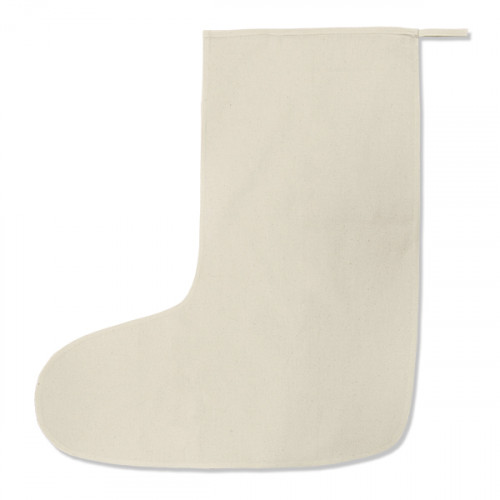 Natural cotton large Stocking 28x57cm