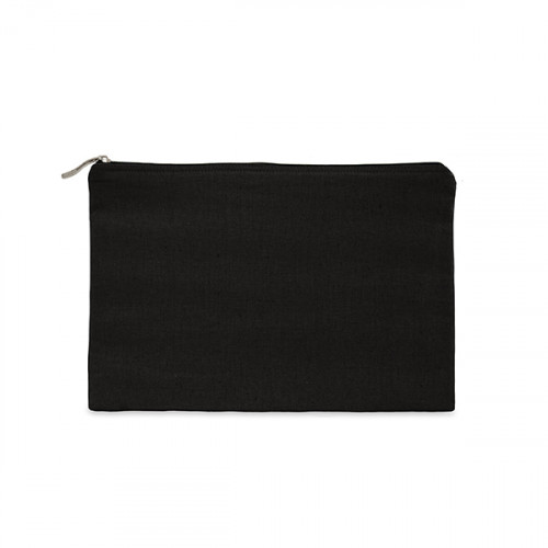 Black canvas 8oz tablet protector case 25x16cm